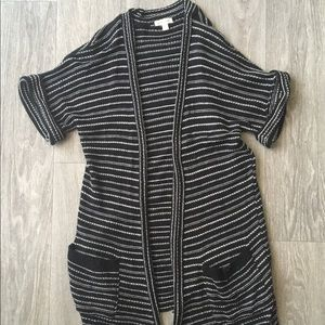 Silence and Noise short sleeved cardigan